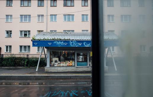The tram stops of Kopli